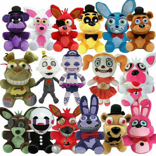 Koala Stuffed Animals Mini, Fnaf 8 Lolbit Plush Five Nights At Freddy S Sister Location For Sale Online Ebay