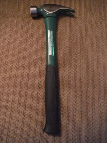 NEW Masterforce 21 oz Fiberglass with Graphite Jacket Framing Hammer