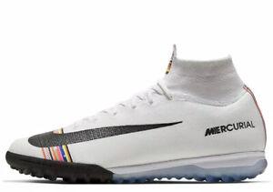 Escupir Izar detergente  NEW Nike Mercurial Superfly 6 Elite TF Size 9.5 White Soccer Turf AJ3572  009 192499375964 | eBay