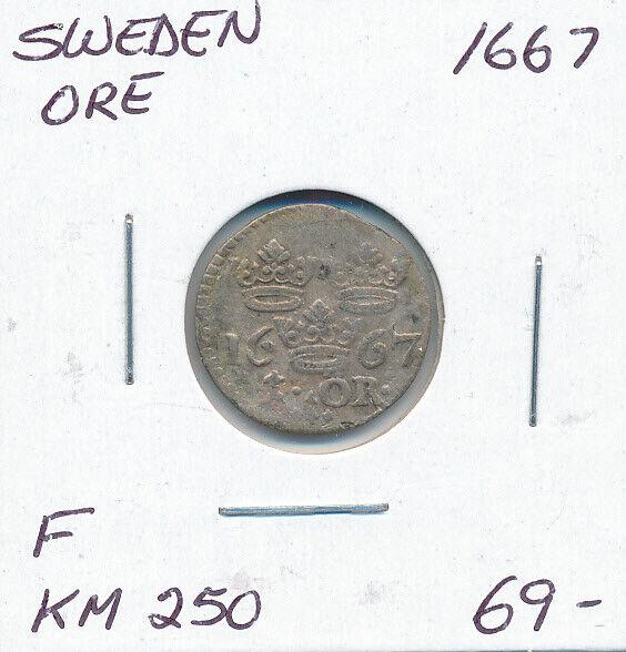 Sweden Ore 1667 For Sale Online Ebay