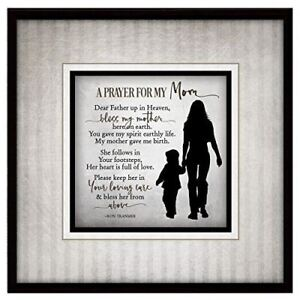 NEW-Dexsa-Prayer-For-My-Mom-Simple-Expressions-Wood-Plaque-with-Easel-DX8672
