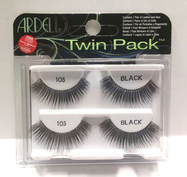 6b72b7fb73c Ardell Glamour Eyelashes 2 Pair 105 Black A019 for sale online | eBay