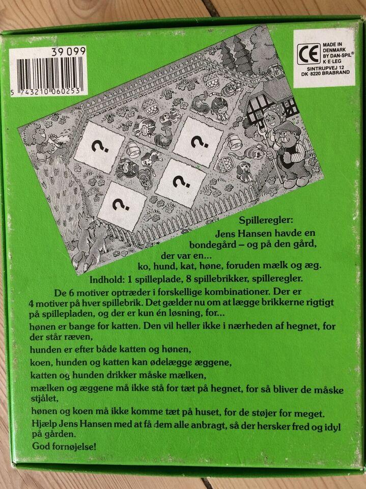Jens Hansens bondegård, andet spil
