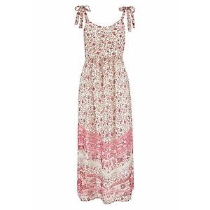 genial-Gr-46-MAXIKLEID-Maxi-Kleid-Bluemchen-BOHO-GOA-rosa-pastell-Sommerkleid