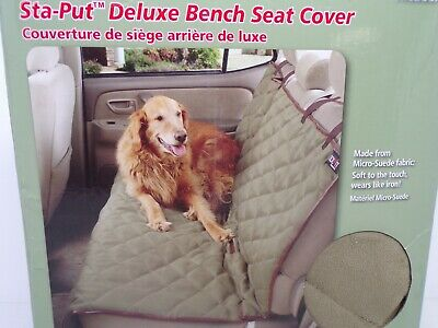 Incredible Solvit Sta Put Deluxe Bench Seat Cover For Backseat Dog Seat Cover Ebay Ibusinesslaw Wood Chair Design Ideas Ibusinesslaworg