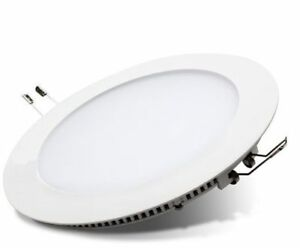 18w Cool White LED Round Recessed Ceiling Panel Down Ip65 Light Ultra Smd2835