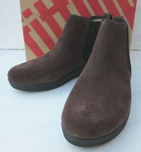 51138631eb FITFLOP Women  039 s Superchelsea Leather Ankle Boot Chelsea Brown ...