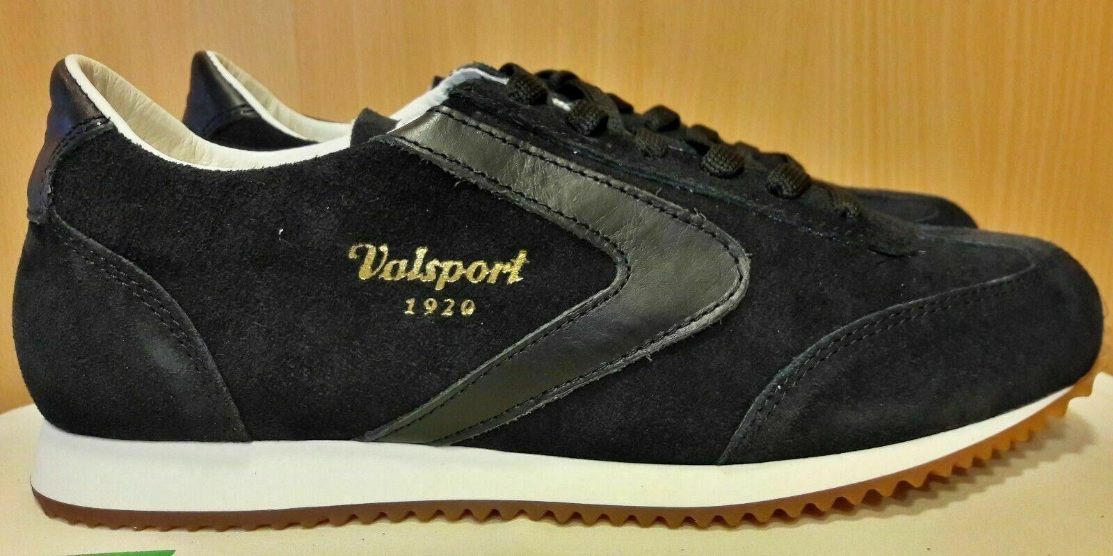 zapatillas Valsport 1920  Soft Suede negro