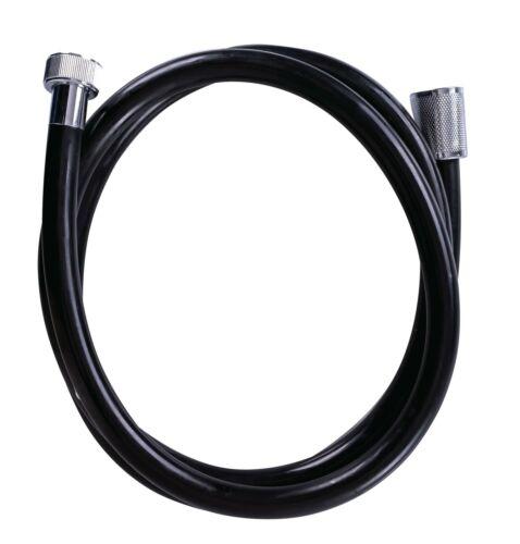 Duschzubehör,Brauseschlauch 1,5 m Tortuga schwarz RIDDER Duschschlauch ca PVC