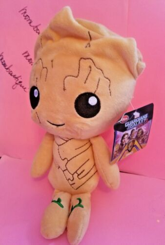 2 NEW Disney Plush Stuffed Animal Baby Groot Marvel Guardians of the Galaxy Vol