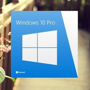 Microsoft Windows 10 Pro 32/64 Serial Key Original License Code + Download