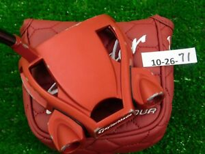 TaylorMade-Spider-Tour-Red-35-034-Putter-with-Headcover