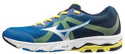 Mizuno Scarpa Running Sneaker Uomo Wave Elevation Blu Grigio Giallo | eBay
