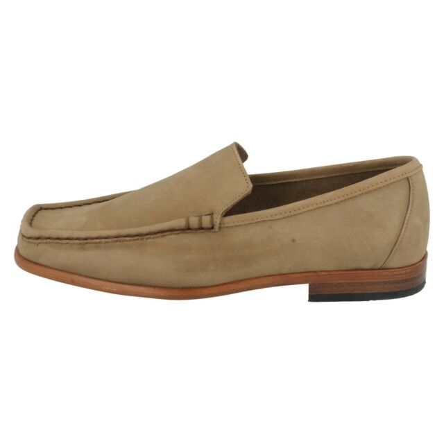 MENS SMART CLASSIC FORMAL LOAFERS SLIP ON EVERYDAY CASUAL GRENSON MILANO 9667