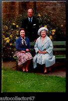 ORIGINAL 1985 British Royal Family Christmas Card Queen Elizabeth II signed