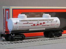 LIONEL 6463 SANTA'S SLEIGH ROCKET FUEL TANK CAR o gauge train tanker 6-81494 NEW