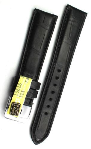 19mm Top Louisiana ALLIGATOR BAND Handarbeit GERMANY KROKOBAND Uhrenband 19/16