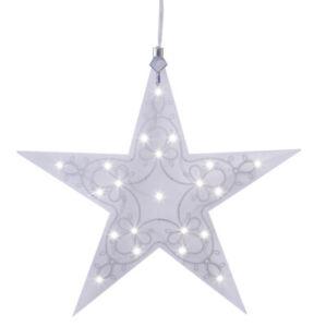 LED Acrylstern Stern Leia Fensterlicht Weihnachtsstern versch Größen