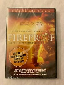 Fireproof Special Collector's Edition DVD 2009 Kirk Cameron New Sealed