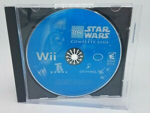 LEGO-Star-Wars-The-Complete-Saga-Wii-2007-Disc-only-FREE-SHIP