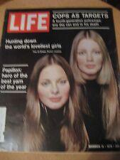 Life Magazine November 13, 1970  What Happened on Your Birthday 45 Years Ago
