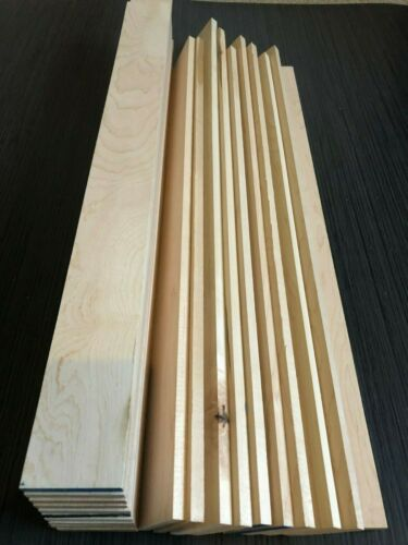 Various sizes. Planned All Round Maple Timber Offcuts 5//10//20 pieces