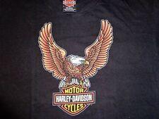 OEM Harley Davidson Large Tshirt Eagle and Bar and Shield Nashua NH shovelhead
