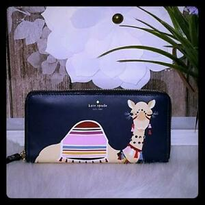 NWT-Kate-Spade-Spice-things-up-Camel-Neda-wallet