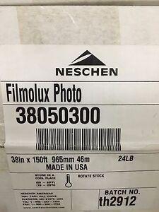 Neschen Graphics Filmolux Gloss 38inch X 150ft Lamination Roll