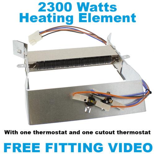 Hotpoint CTD00 TCM580 Sèche-linge élément chauffant thermostats fit vidéo