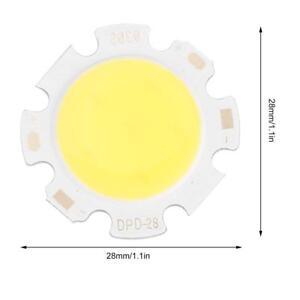 5-pcs-Pure-White-Round-COB-Super-Bright-LED-SMD-Chip-Light-Lamp-Bulb-BG