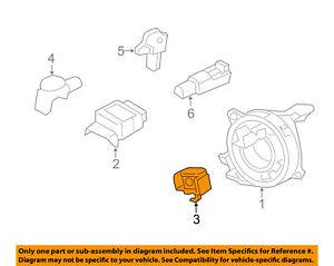Ford Oem Airbag Air Bag Srsfront Impact Sensor Cp9z14b004a Ebay. Is Loading Fordoemairbagairbagsrsfrontimpact. Ford. 2001 Ford Focus Crash Sensor Wiring Diagram At Scoala.co