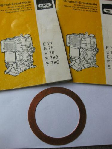 Hatz Zylinderkopfdichtung Dichtungen Motor E71 E75 Hatz Nr 03172200