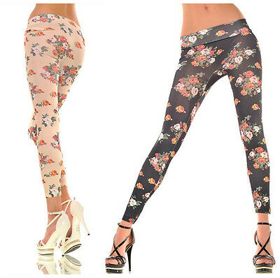New Fashion Women Punk Funky Leggings Stretchy Pencil Skinny Sexy Pants