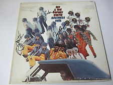 """SLY AND THE FAMILY STONE signed vinyl album - """"Greatest Hits"""" - signed by 3"""