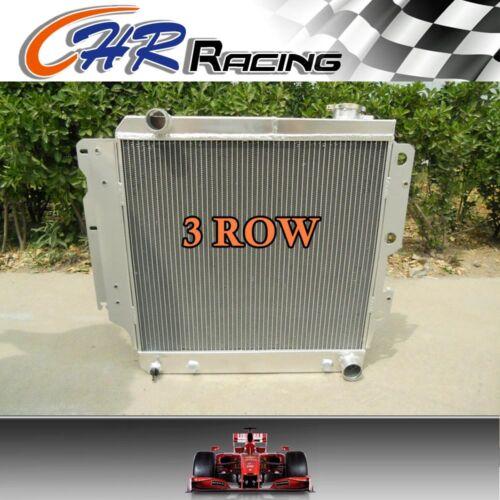 3 ROW 1987-2006 Jeep Wrangler w//Chevy V8 Aluminum Radiator 2005 2004 2003 00 99