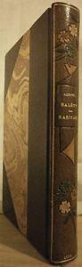 HALEVY-KARIKARI-1892-exemplaire-sur-JAPON-relie-CANAPE-dedicace-Claretie-TBE