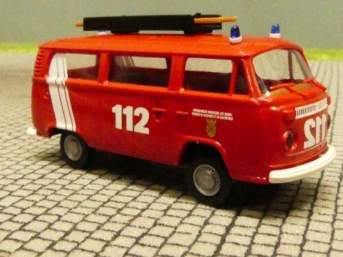 1//87 Brekina VW t2 bomberos Luxemburgo türwappen 90913