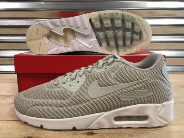 size 40 4d446 c7389 Nike Air Max 90 Ultra 2.0 BR Running Shoes Pale Grey White SZ ( 898010-
