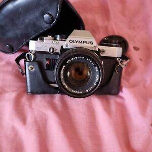 appareil photo argentique olympus OM 10+objectif