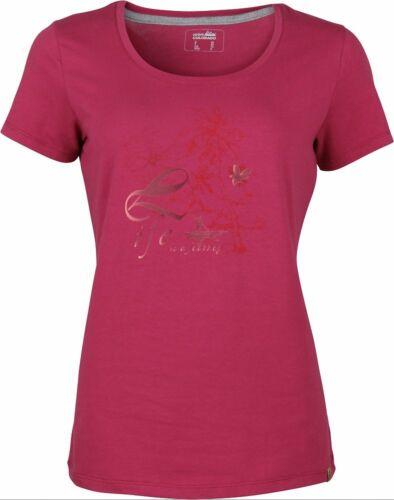 High Colorado Garda 4 Lady T-Shirt Damen Kurzarmshirt beaujolais pink