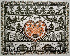 NEW CROSS STITCH KIT BLACK SILHOUETTE SAMPLER EVA ROSENSTAND CLARA WAEVER 12-495