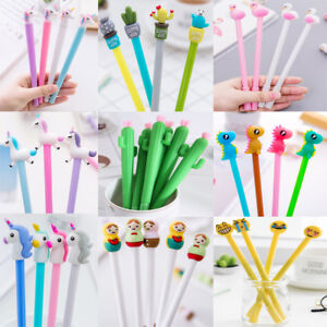 Wholesale-9-Styles-Gel-Pen-Ballpoint-Stationery-Writing-Sign-Child-School-Office
