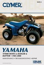 1985 - 2008 Yamaha YFM80 MOTO-4 BADGER RAPTOR Clymer Service Repair Manual M4992