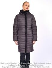 Down Coat Jacket Parka w/ Mink Fur Trim sz 3XL / US 16 EU 48 $795  Пуховик Норка