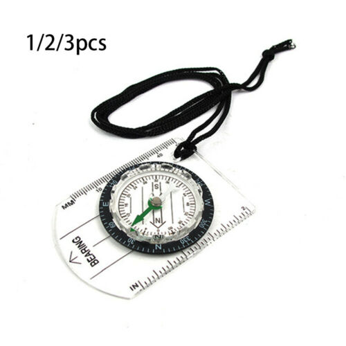 Tool Professional Rulers Compass With Rope Multifunctional Map Scale Ruler