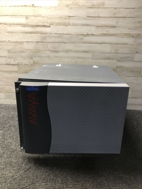 Avaya G650 Media Gateway 14 Card Slot, 1 Power Supply w 5 TN464HP DS1 INTFC 2432