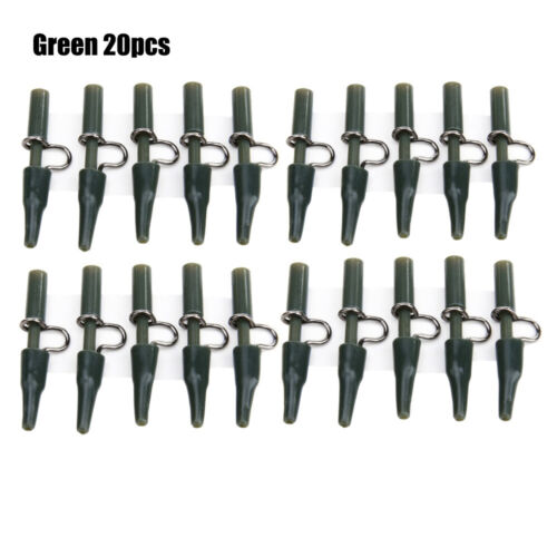 color Fastening the Line Carp Fish Accessories Fixed Lines Safety Lead Clips