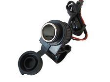 Handlebar Mount 12V Power Socket Charger Fits YAMAHA XJR 1200 1300 400