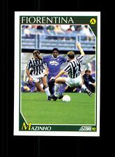 Iomar do Nascimento AC Florenz 1992 Sammel Card  Original Signiert+ A 156942